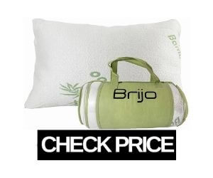 Bamboo Unique Memory Foam Pillows For Back Sleeper